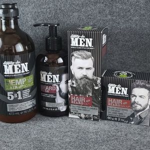 Set of DippityDo MEN hair and beard care